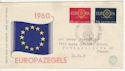 1960 Netherlands Europa Stamps FDC (58563)