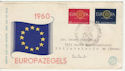 1960 Netherlands Europa Stamps FDC (58564)