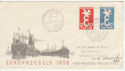 1958 Netherlands Europa Stamps FDC (58565)