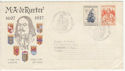 1957 Netherlands M. A. de Ruyter Stamps FDC (58567)