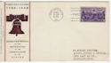 1938-06-21 USA 3c Constitution Stamp FDC (58572)