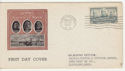 1937-03-23 USA 4c Navy Heroes Stamp FDC (58618)