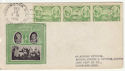 1936-12-15 USA 1c Army Heroes Stamp FDC (58619)