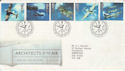 1997-06-10 Architects of the Air Bureau FDC (58636)
