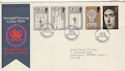 1969-07-01 Investiture Stamps Caernarvon FDC (58706)
