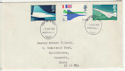 1969-03-03 Concorde Stamps Portsmouth FDC (58715)