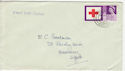 1963-08-15 Red Cross 3d Stamp Sussex cds FDC (58724)