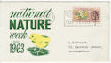 1963-05-16 National Nature Week Northampton FDC (58727)