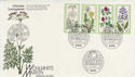 1977 Germany Welfare Flowers Stamps FDC (58739)
