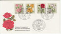 1982 Germany Berlin Roses FDC (58748)