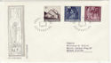 1964 Liechtenstein Christmas Stamps FDC (58798)
