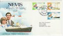 1981-06-23 Nevis Royal Wedding Stamps FDC (58810)