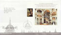 2008-05-13 Cathedrals Stamps M/S London EC4 FDC (58876)