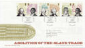 2007-03-22 Abolition of The Slave Trade Hull FDC (58919)