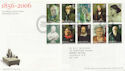 2006-07-18 National Portrait Gallery London WC2 FDC (58933)