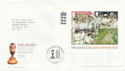 2005-10-06 Cricket The Ashes M/S London SE11 FDC (58945)