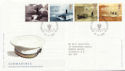 2001-04-10 Submarines Portsmouth FDC (58993)