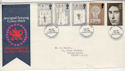 1969-07-01 Investiture Stamps Caernarvon FDI (59042)