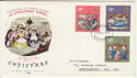 1970-11-25 Christmas Stamps Northampton FDI (59071)