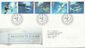 1997-06-10 Architects of the Air Bureau FDC (59091)