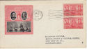 1937-01-15 USA 2c Navy Heroes Stamps FDC (59223)