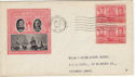 1937-01-15 USA 2c Navy Heroes Stamps FDC (59225)