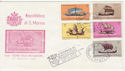 1963 San Marino Ship Stamps FDC (59282)