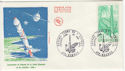 1970 France Space / Satellite Stamp FDC (59348)