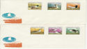 1980 Hungary Bird Stamps Unused on 2 Covers (59449)
