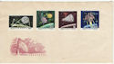 1964 Hungary Space Stamps Unused on Env (59451)