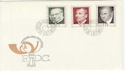 1968 Liechtenstein Famous Philatelists Stamps FDC (59452)