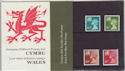 1976-10-20 Wales Definitive Stamps P Pack No 86 (59513)