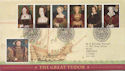 1997-01-21 Henry VIII and Wives Bureau FDC (59606)