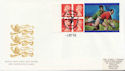 1999-10-01 Rugby Label Pane Widnes FDC (59701)