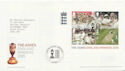 2005-10-06 Cricket The Ashes M/S London SE11 FDC (59733)