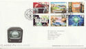 2005-09-15 Classic ITV Stamps T/House FDC (59737)