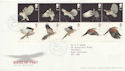 2003-01-14 Birds of Prey Stamps T/House FDC (59754)