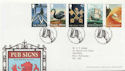 2003-08-12 Pub Signs Stamps T/House FDC (59765)