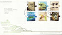 2009-02-12 Charles Darwin Stamps T/House FDC (59804)