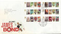 2008-01-08 James Bond Stamps T/House FDC (59832)