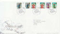 2007-11-06 Christmas Angels Stamps T/House FDC (59835)