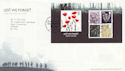 2006-11-09 Lest We Forget M/S T/House FDC (59860)