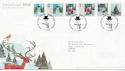 2006-11-07 Christmas Stamps T/House FDC (59861)
