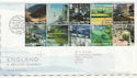2006-02-07 England A British Journey T/House FDC (59872)