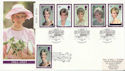 1998-02-03 Diana Stamps Kensington Doubled FDC (59881)