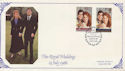 1986-07-22 Royal Wedding London SW1 FDC (59888)