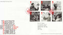 2011-04-12 Shakespeare Stamps Stratford FDC (59960)