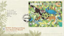 2011-03-22 WWF Stamps M/S Godalming FDC (59964)