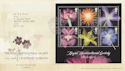 2004-05-25 Horticultural Society Stamps M/S Wisley FDC (59981)