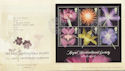 2004-05-25 Horticultural Society Stamps M/S Wisley FDC (59982)